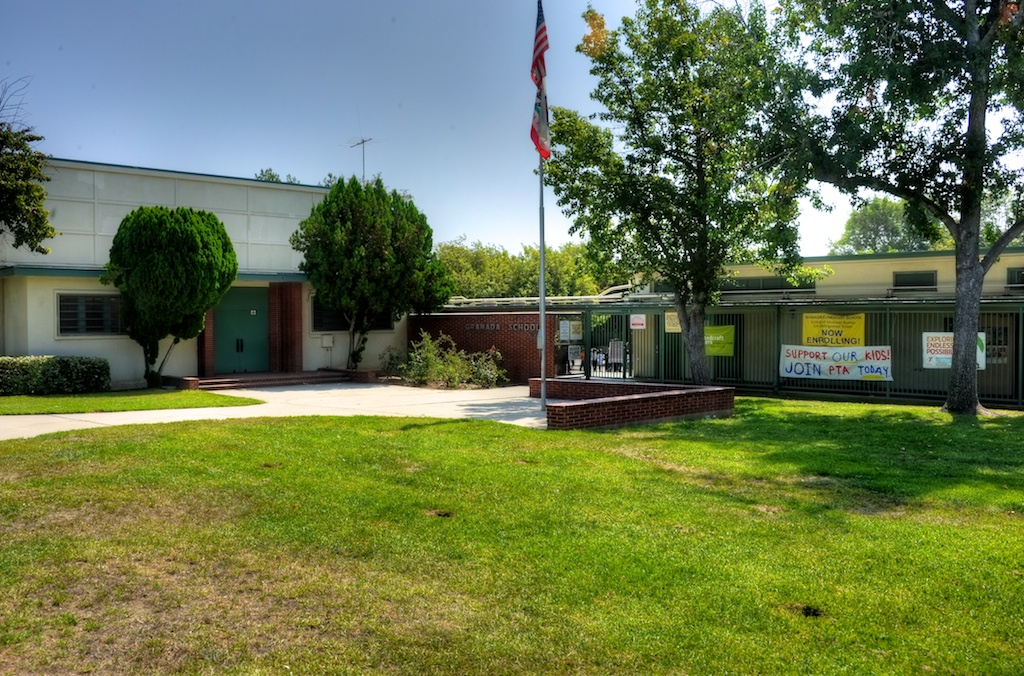 The photos on this blog were taken during my campus tour. Granada Hills ...